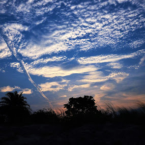 Clouds to Remember by Praveen Kulshreshtha - Landscapes Cloud Formations