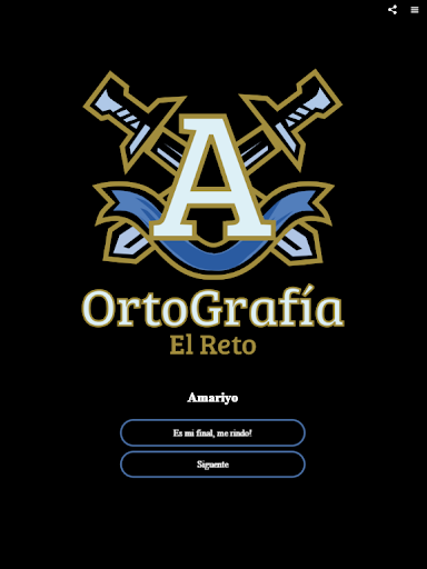 OrtoGrafía - El Reto