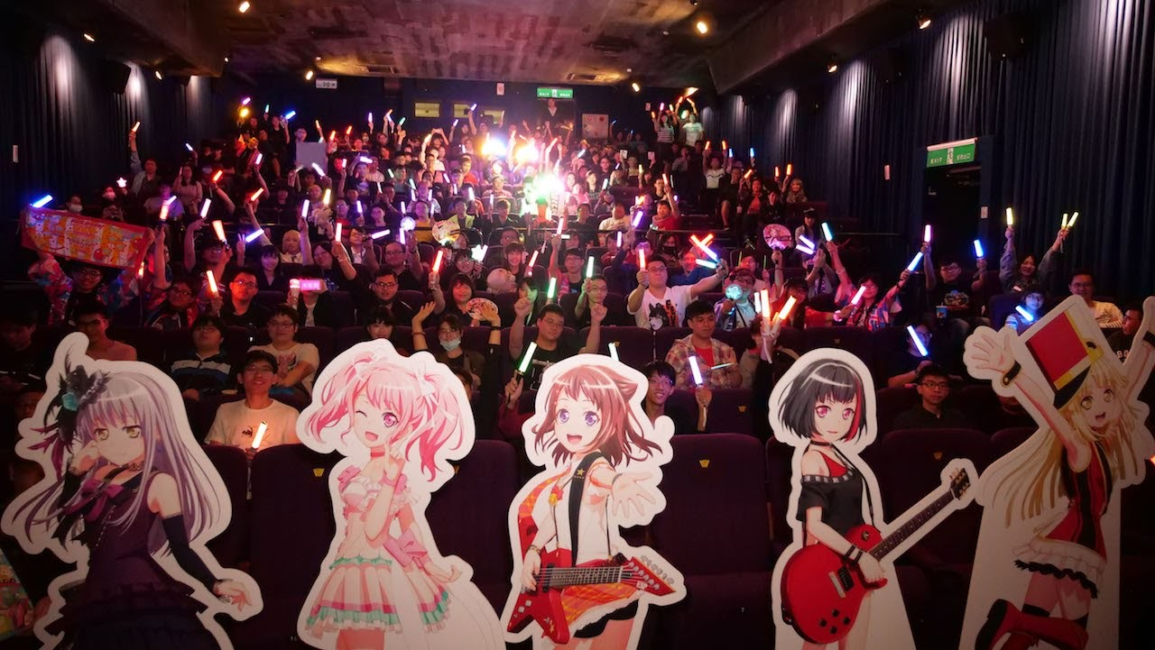 [迷迷動漫] 《BanG Dream! FILM LIVE》映前打CALL特映場 炎炎烈日不滅邦邦粉熱情 打CALL打到手痠仍熱力應援!