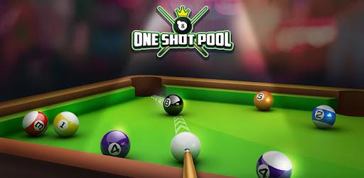 One Shot Pool captures d'écran