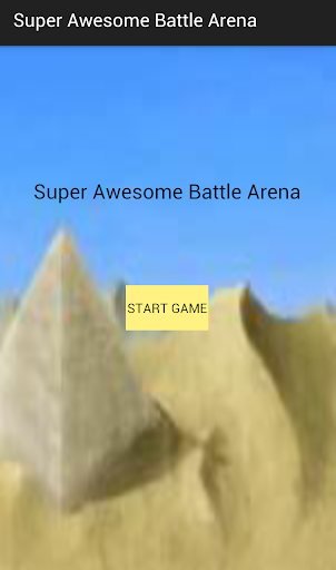 Super Awesome Battle Arena