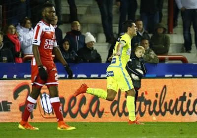"""Perbet : """"Cette victoire à Mouscron nous met en confiance pour l'Europa League"""""""