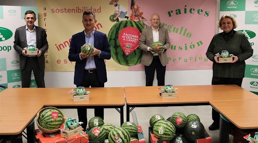 Presentación de la campaña de la sandía sin pepitas Bouquet de ANECOOP