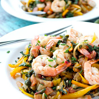 Shrimp and Swiss Chard Sauté