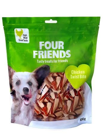 Four Friends Chicken Twist Bite 400g