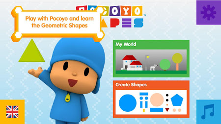 Pocoyo Shapes Free 1.11 screenshot 2078053