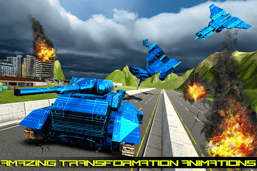 Transform Robot Action Game filehippodl screenshot 3