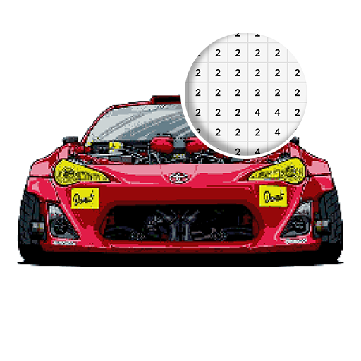 App Insights Pixel Art Cars Racing Color By Number For