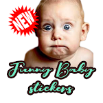 WAStickers  Funny Baby Stickers - For Whatsapp icon