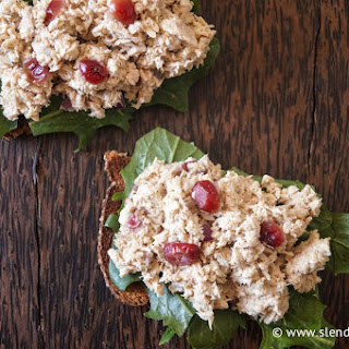 Cranberry Tuna Salad.