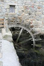 Photo: La roue du moulin à marée de Berno( Ile d'Arz)