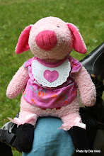 Photo: (Year 2) Day 341 - Pippa the Pig in Her New Bib