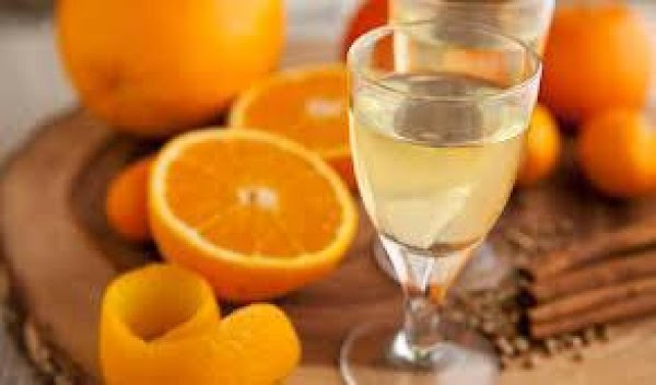 Pare very thinly the bright-colored rind from the oranges (no white). Blot peel on...