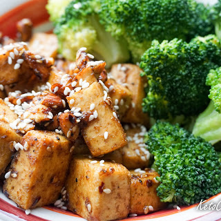 Spicy Almond Tofu