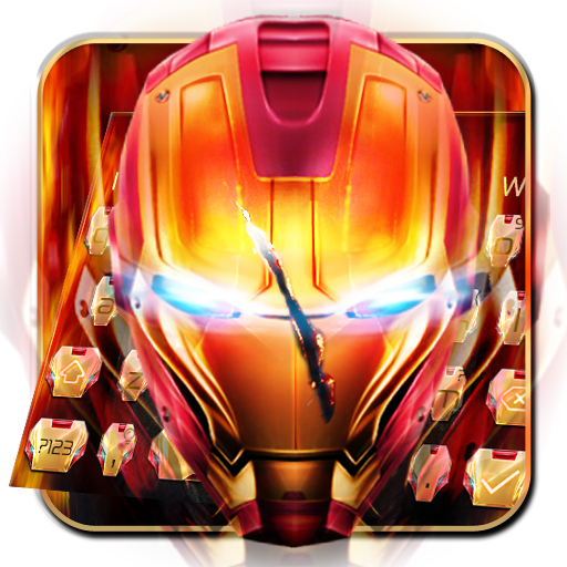 Super Red Iron Avenger Keyboard file APK Free for PC, smart TV Download