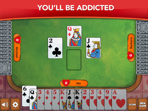 Hearts - Card Game Classic filehippodl screenshot 10