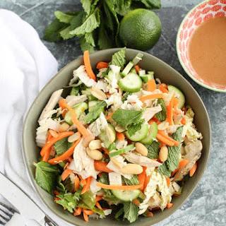 Skinny Thai Chicken Salad.