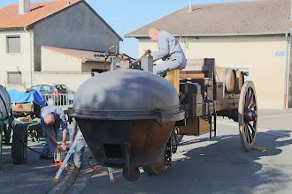 Photo: Pompage !!! la pompe est récalcitrante ...