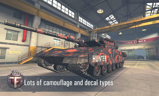 Tank Force: Real Tank War Online - screenshot