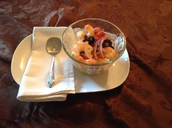 Devilish Shrimp Salad Recipe