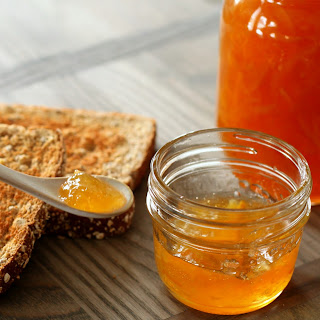Meyer Lemon and Ginger Marmalade .