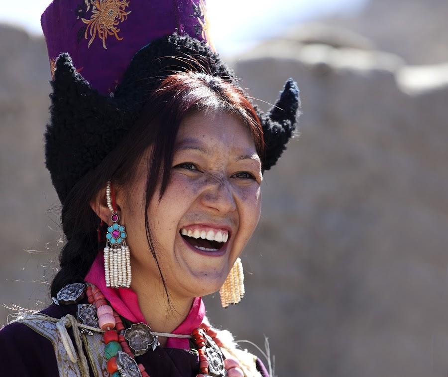 Share the Joy by Jasminder Oberoi - People Street & Candids ( canon, canon 5d mark ii, workshop, incredible india, jammu and kashmir, candid, ladakh, klik school, portrait, light chasers, leh, portrait photography, photography expedition to ladakh, ladakh festival, photo tour, ladakhi woman, klik, india, laughter, masterclass, jas fotography )
