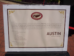 Photo: Description of the Austin Car in Hua Hin at Centara Grand Hotel.