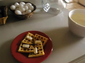 Easy Fluffy Waffle Batter