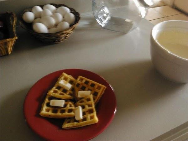 Easy Fluffy Waffle Batter Recipe