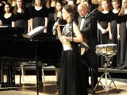 Photo: Anne Tornillo, Trumbull High School Concert Choir Director