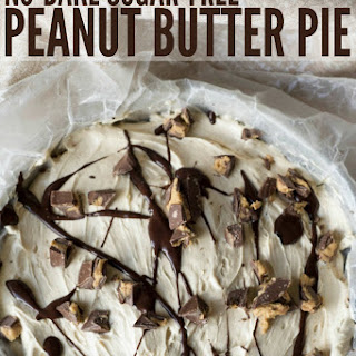 No-Bake Sugar-Free Peanut Butter Pie.