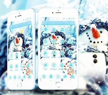 Christmas Snowman Theme - náhled