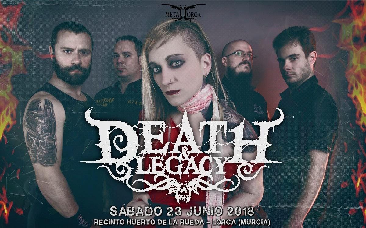 death & Legacy metal lorca