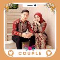 Hijab Batik Couple Editor icon