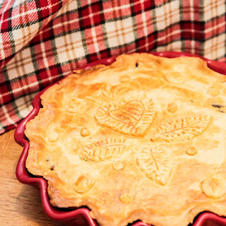 Steak Pie with Bacon, Guinness and Brandy