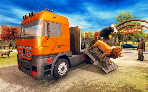 Wild Animal Transporter Truck Simulator Games 2018 screenshots 3