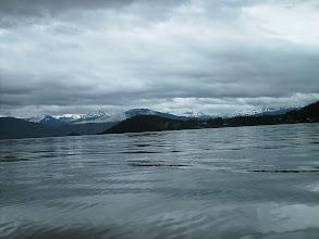 Photo: Looking back toward Wrangell.