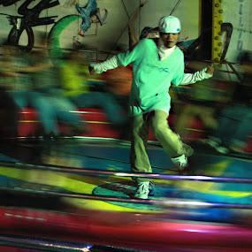 Dancer by Maji Shuki - City,  Street & Park  Street Scenes