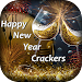 New Year Crackers Magic Touch - New Year Fireworks Icon