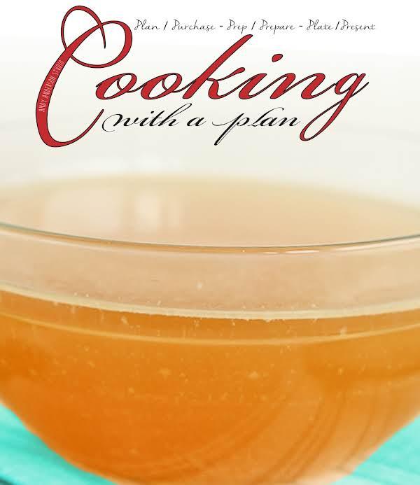 Sauce Essentials: Fresh Turkey Stock Recipe