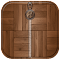 Wood Zipper Screen Lock 1.0 Apk