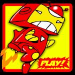 Superhero Jetpack Robot Game
