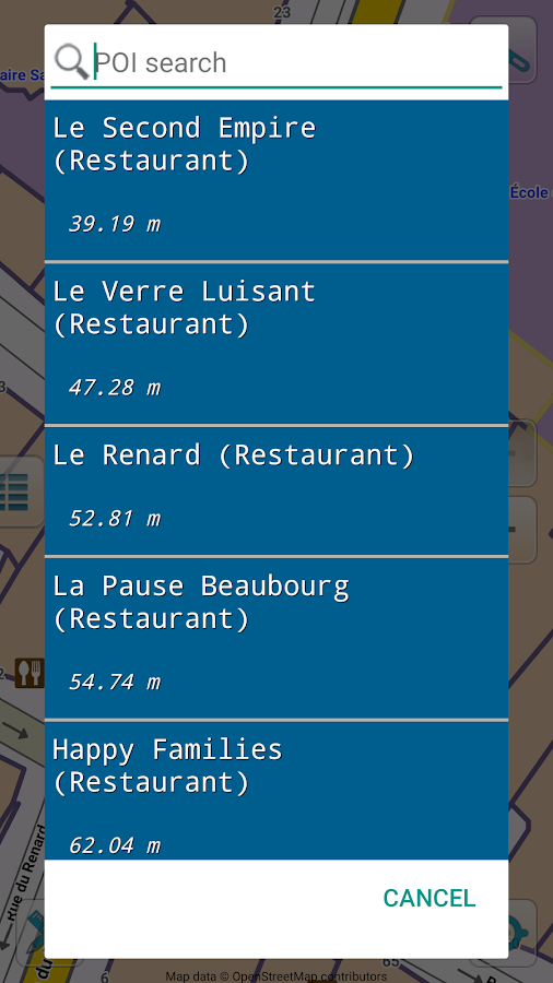 Map of Paris offline  Android Apps on Google Play