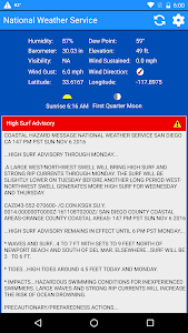 National Weather Service screenshot 5