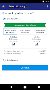 1800 Contacts - Lens Store- screenshot thumbnail