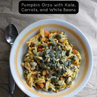 Creamy Pumpkin Orzo