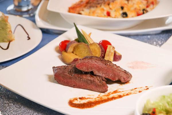 「巴薩爵斯」北區質感餐廳,義式料理 義大利麵/燉飯/結合傢俱販售的歐式鄉村風。|台南聚餐|和緯路|