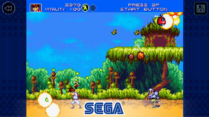 Gunstar Heroes Classic- screenshot