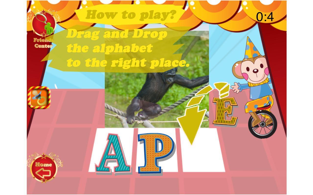 Kids Learn abc simple word 108- screenshot