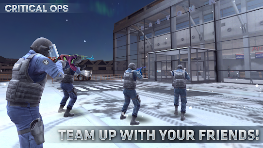 Critical Ops (Mod, Unlimited Bullets) 1